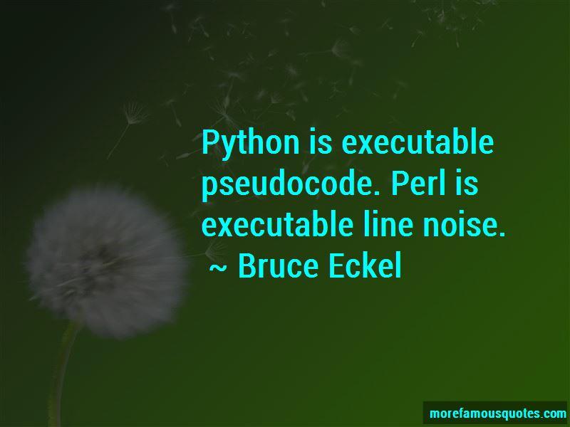 Bruce Eckel Quotes Pictures 3