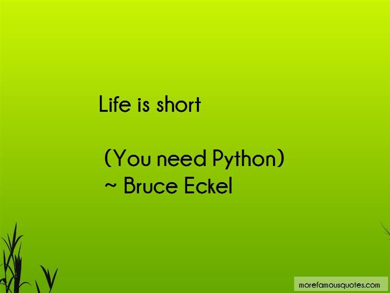 Bruce Eckel Quotes