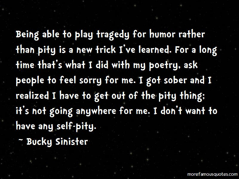 Bucky Sinister Quotes Pictures 2