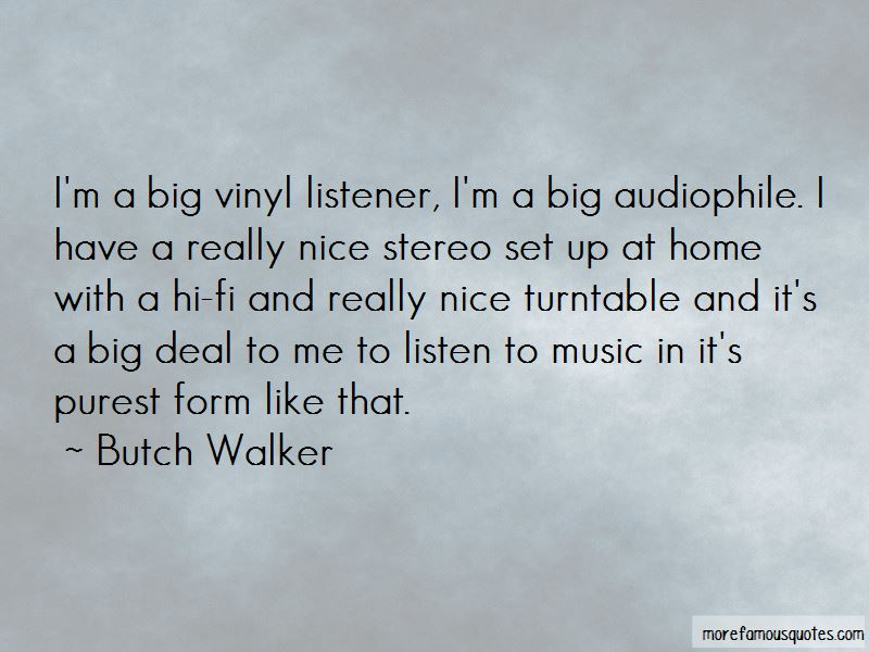 Butch Walker Quotes