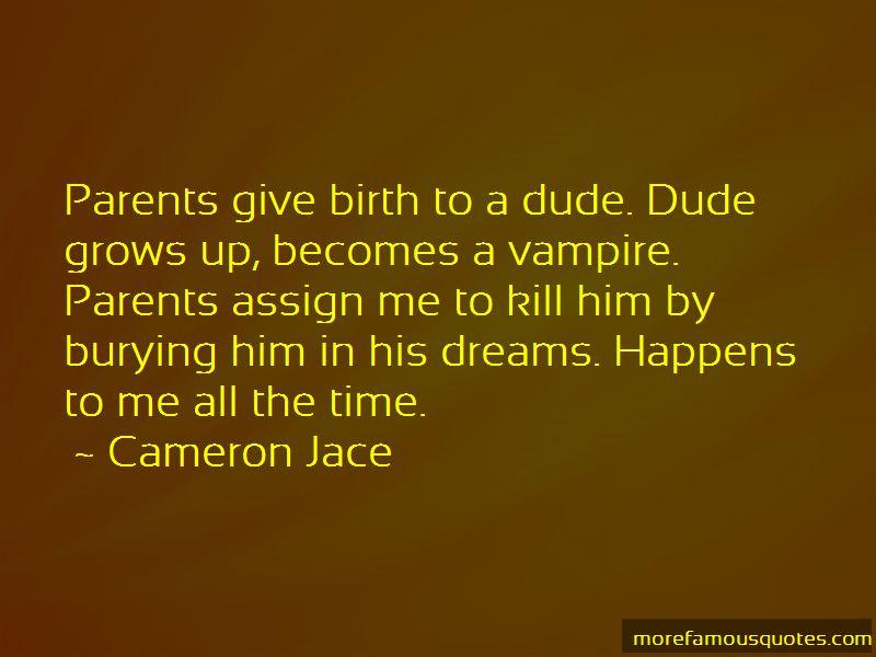 Cameron Jace Quotes