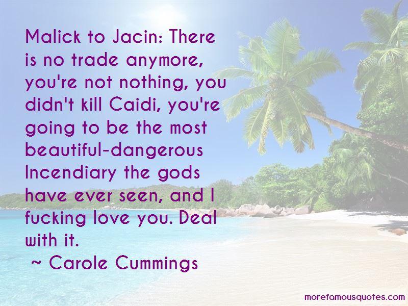 Carole Cummings Quotes Pictures 2