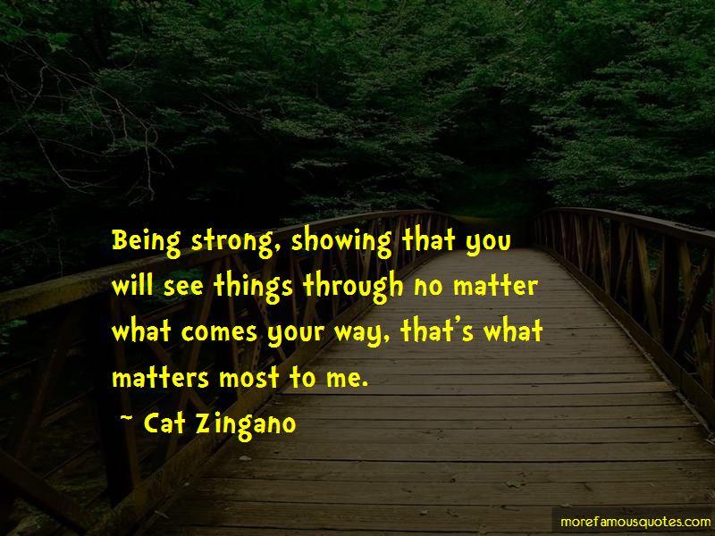 Cat Zingano Quotes Pictures 3