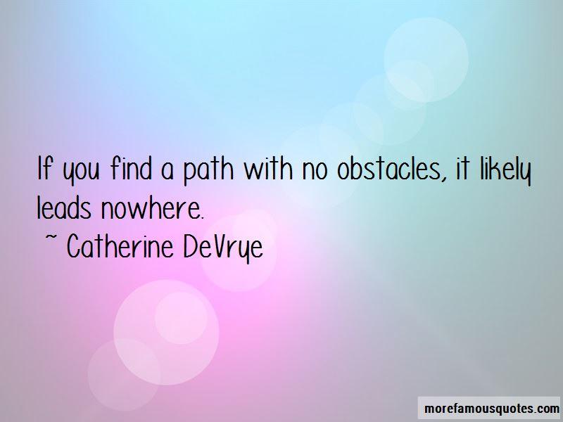 Catherine DeVrye Quotes