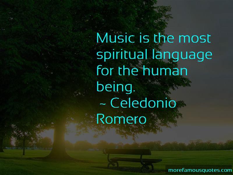 Celedonio Romero Quotes