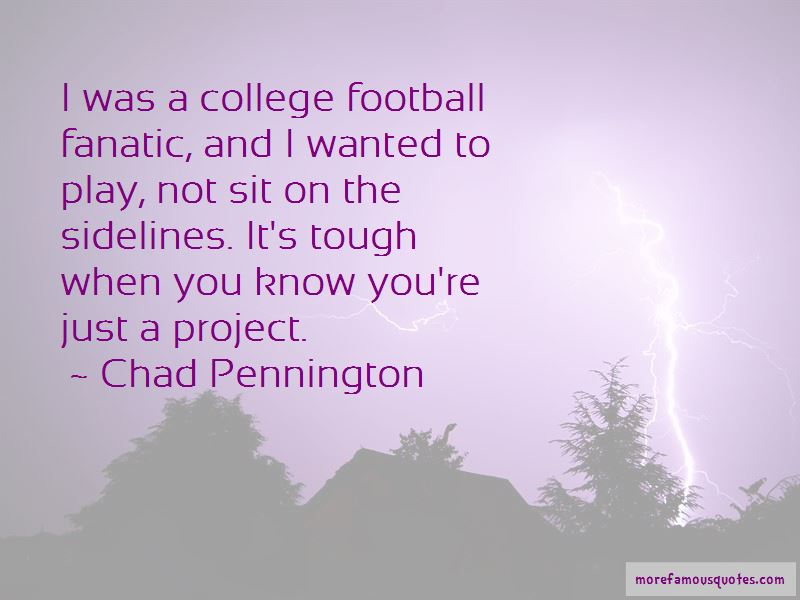 Chad Pennington Quotes Pictures 2