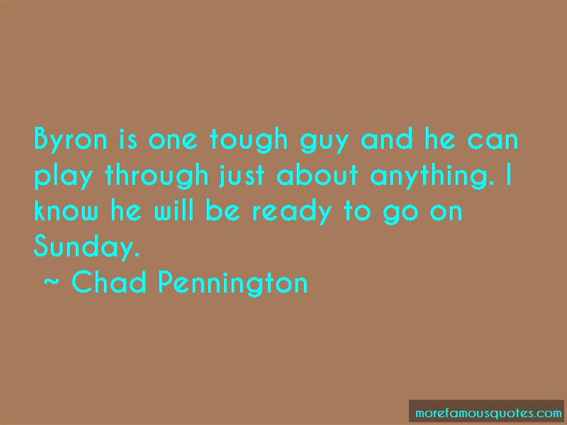 Chad Pennington Quotes Pictures 3