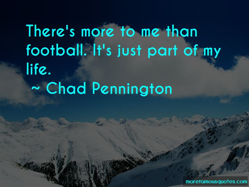 Chad Pennington Quotes