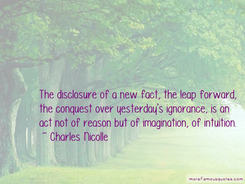 Charles Nicolle Quotes