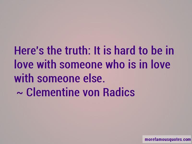 Clementine Von Radics Quotes Pictures 2
