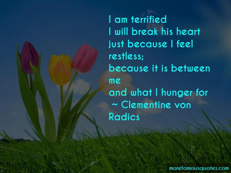 Clementine Von Radics Quotes Pictures 3