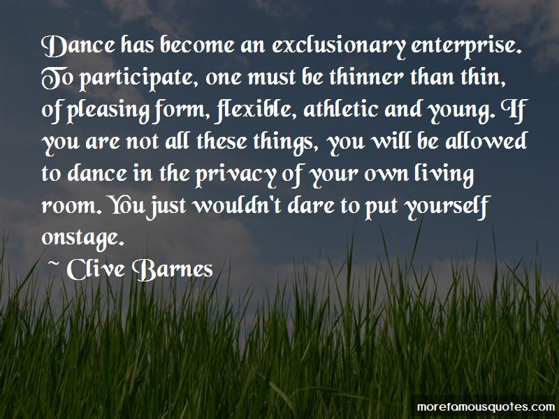 Clive Barnes Quotes Pictures 3