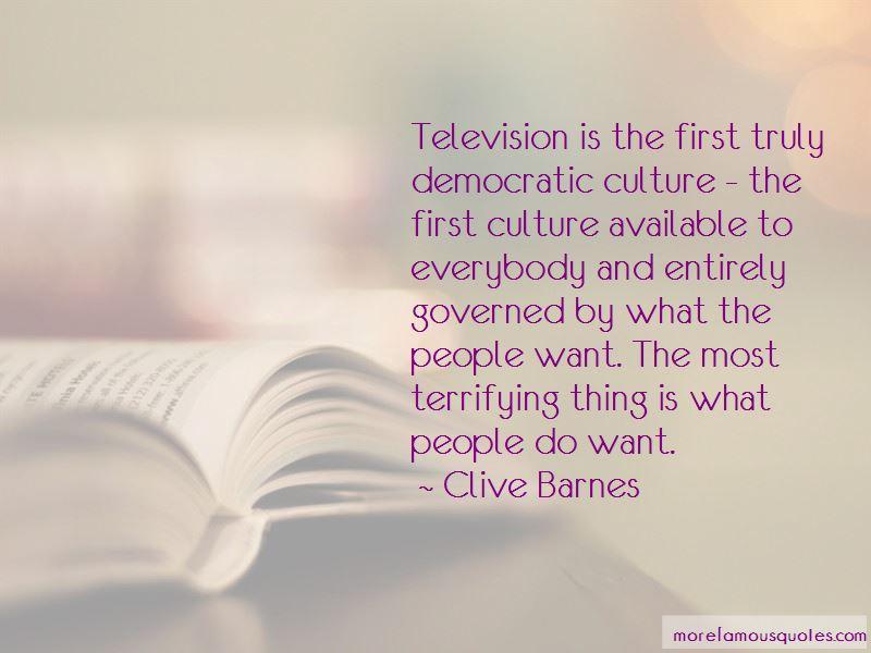 Clive Barnes Quotes