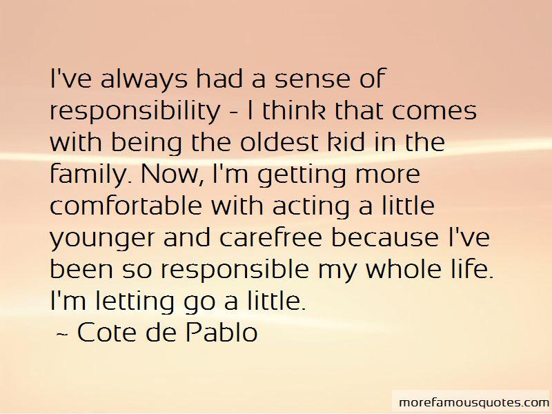 Cote De Pablo Quotes