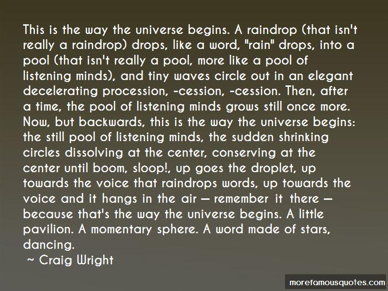 Craig Wright Quotes