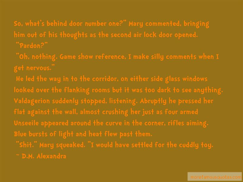 D.M. Alexandra Quotes Pictures 2