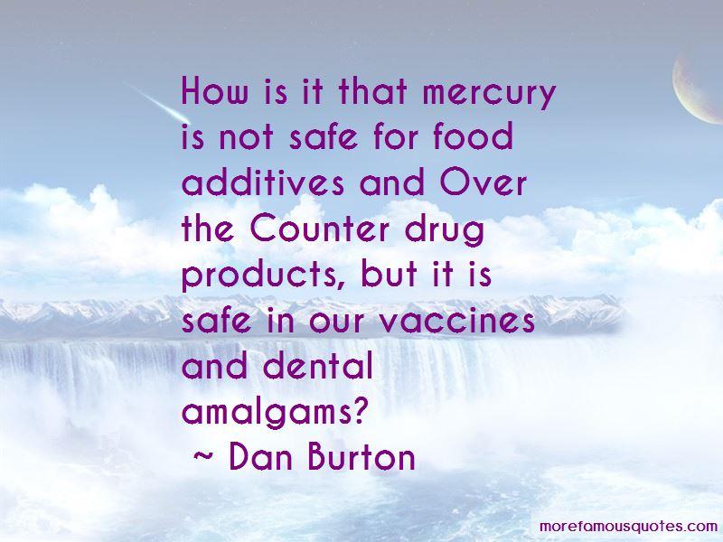 Dan Burton Quotes