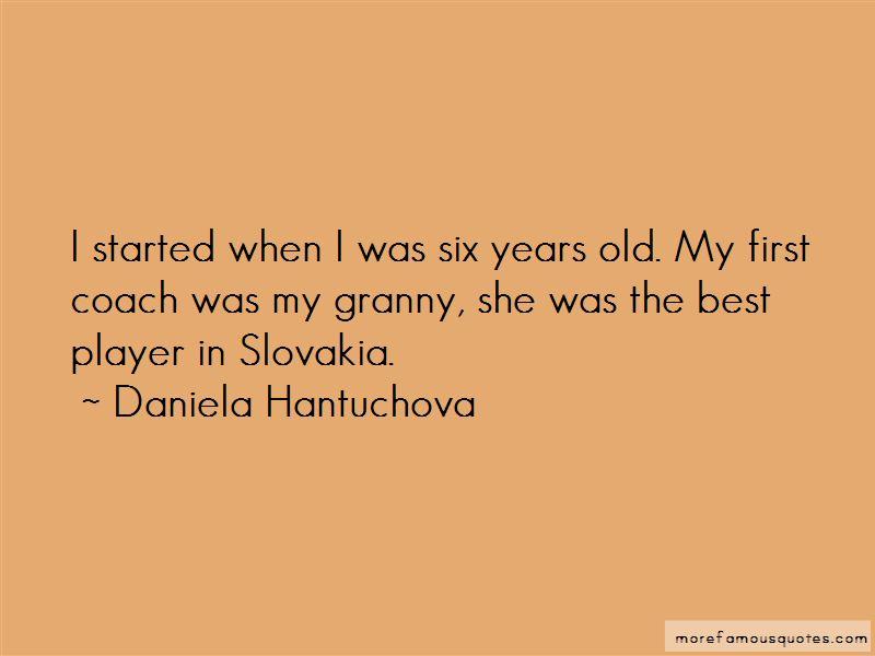 Daniela Hantuchova Quotes Pictures 2