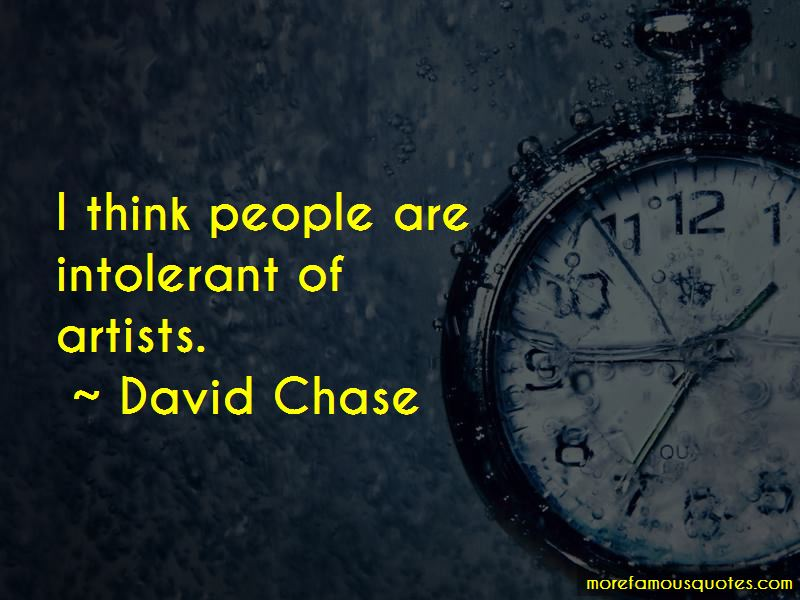 David Chase Quotes