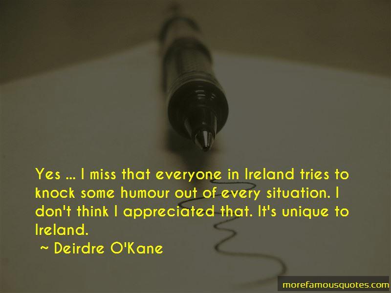 Deirdre O'Kane Quotes