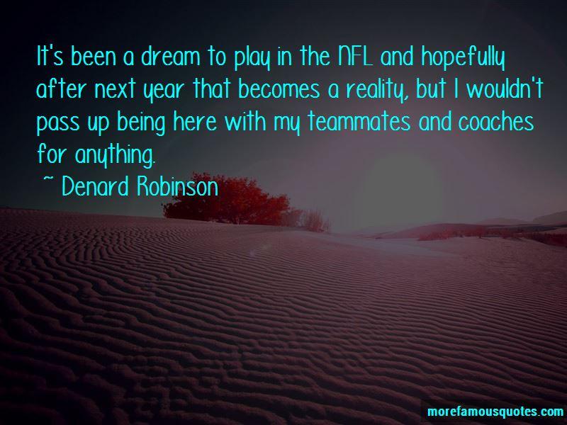 Denard Robinson Quotes Pictures 3