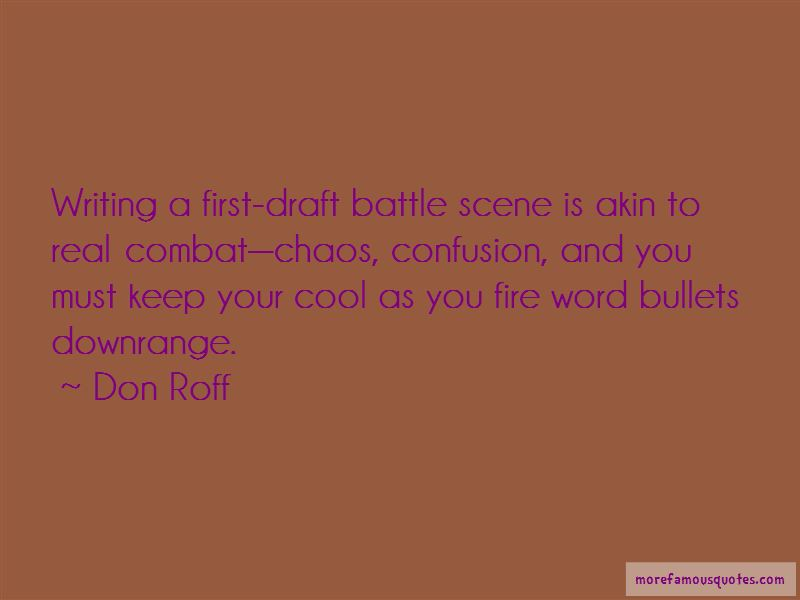 Don Roff Quotes