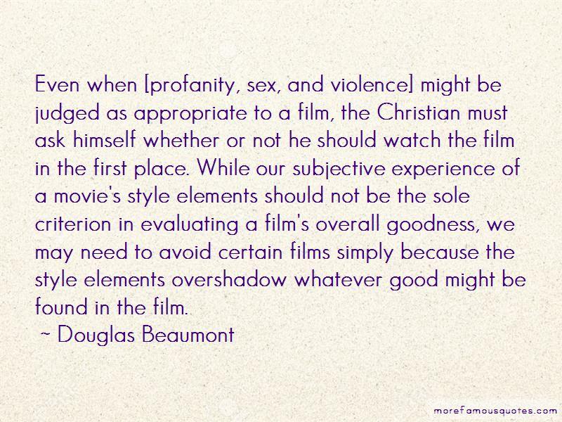Douglas Beaumont Quotes Pictures 3