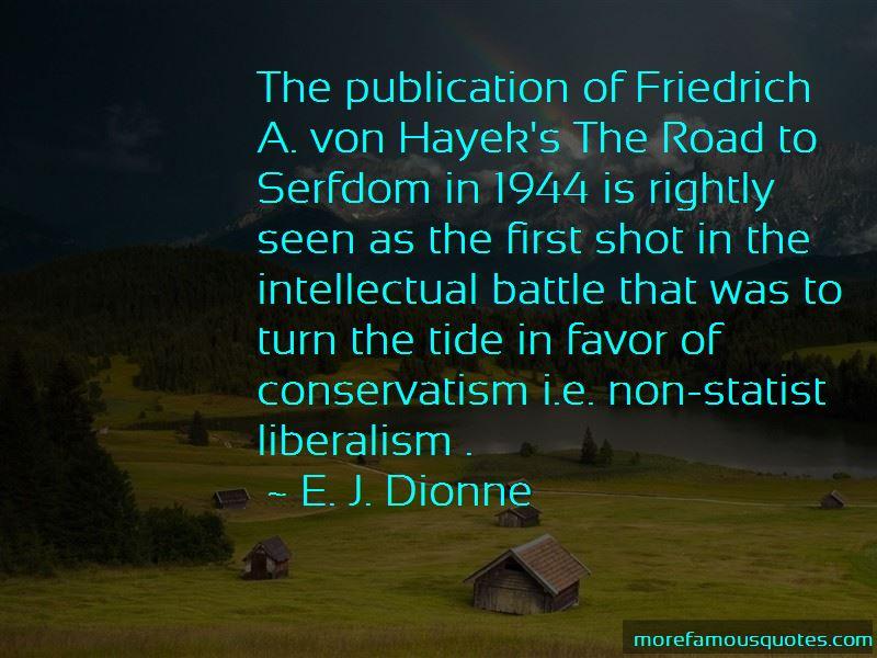 E. J. Dionne Quotes