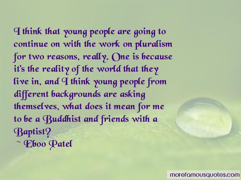 Eboo Patel Quotes