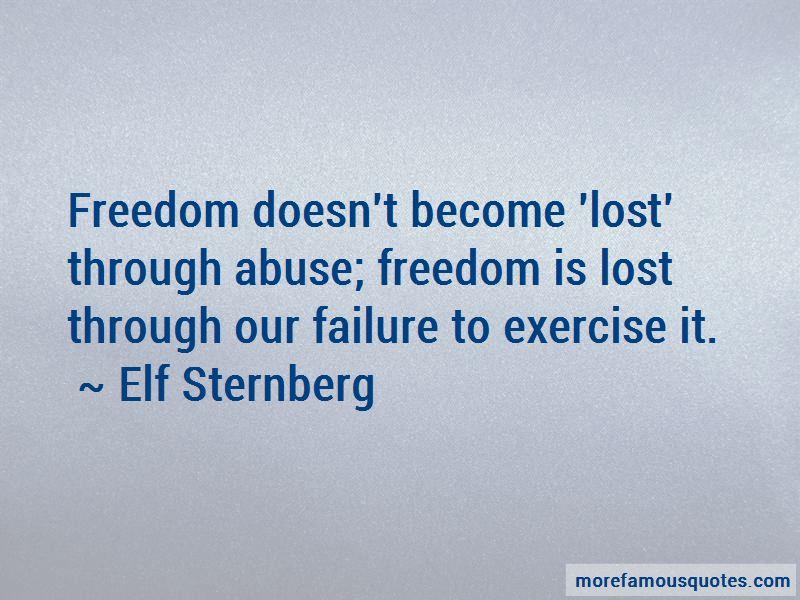 Elf Sternberg Quotes Pictures 2