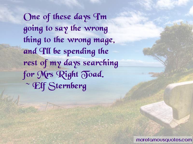 Elf Sternberg Quotes Pictures 3