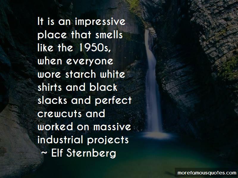 Elf Sternberg Quotes
