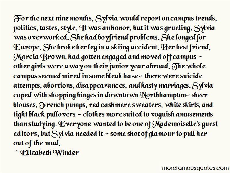 Elizabeth Winder Quotes Pictures 4