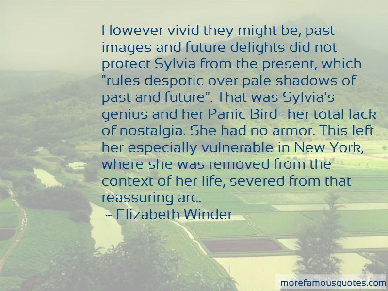 Elizabeth Winder Quotes