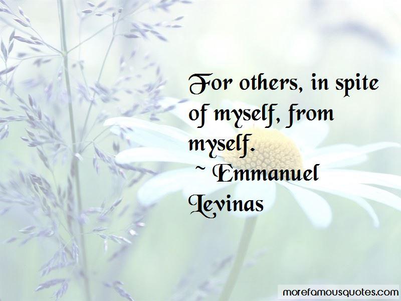 Emmanuel Levinas Quotes Pictures 2