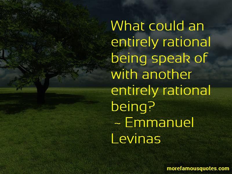 Emmanuel Levinas Quotes Pictures 3