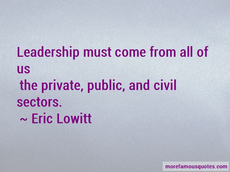 Eric Lowitt Quotes Pictures 2