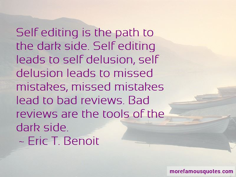 Eric T. Benoit Quotes Pictures 2