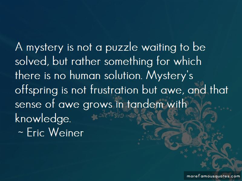Eric Weiner Quotes Pictures 4