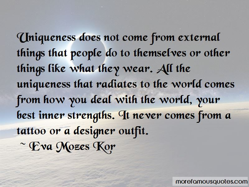 Eva Mozes Kor Quotes Pictures 4