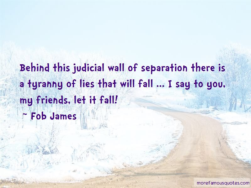 Fob James Quotes