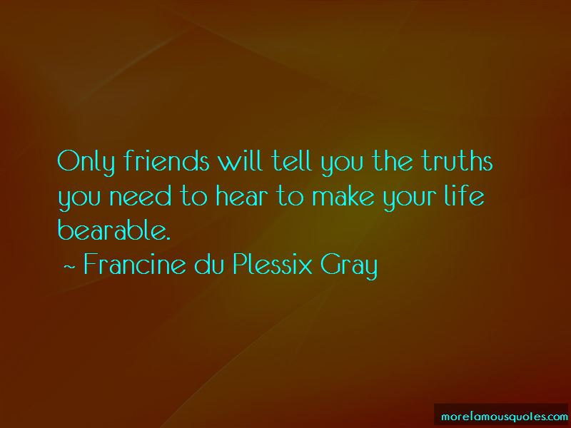 Francine Du Plessix Gray Quotes Pictures 2