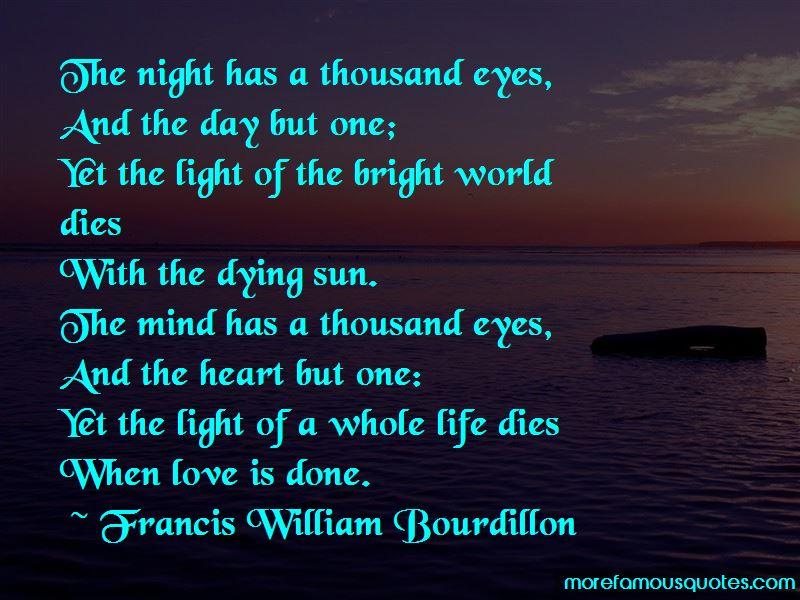Francis William Bourdillon Quotes Pictures 4