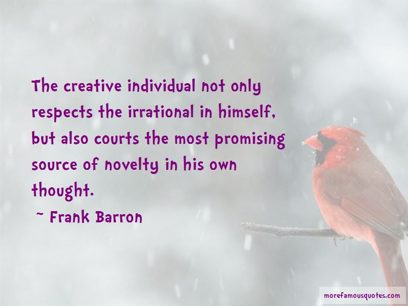 Frank Barron Quotes Pictures 3