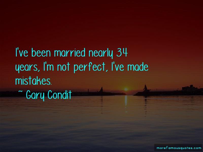 Gary Condit Quotes