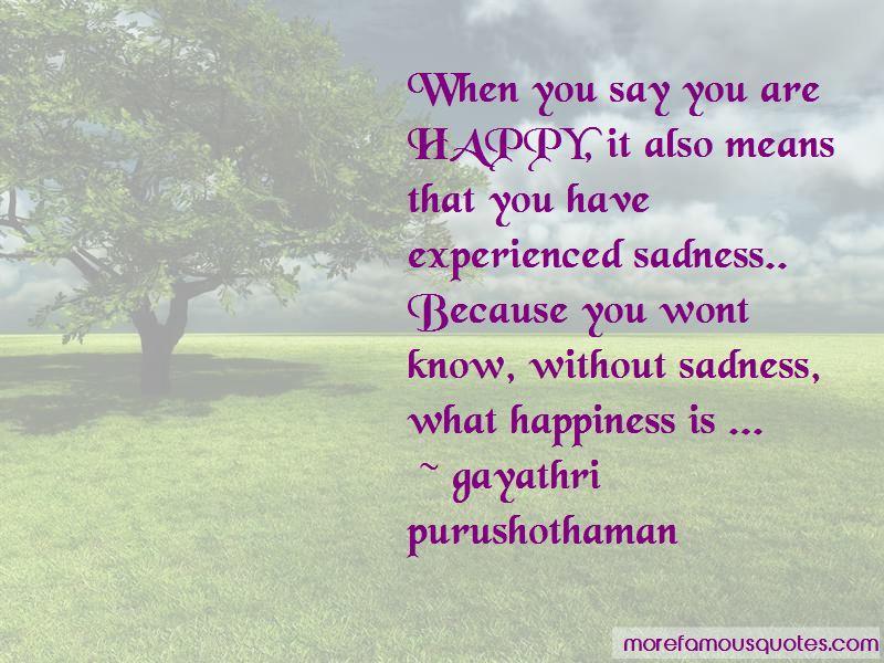 Gayathri Purushothaman Quotes Pictures 3
