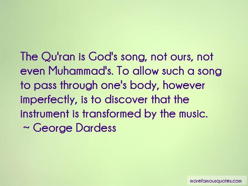 George Dardess Quotes