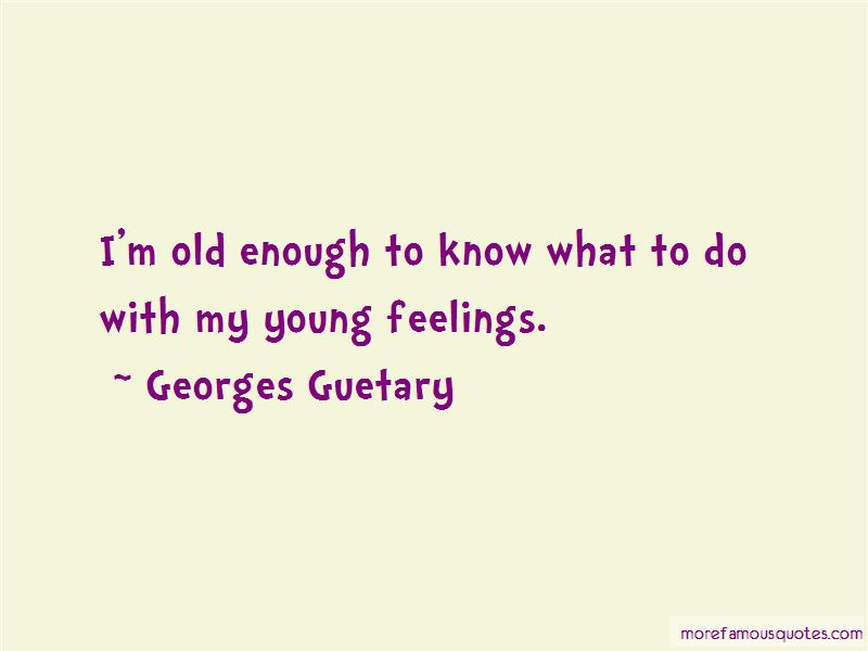 Georges Guetary Quotes