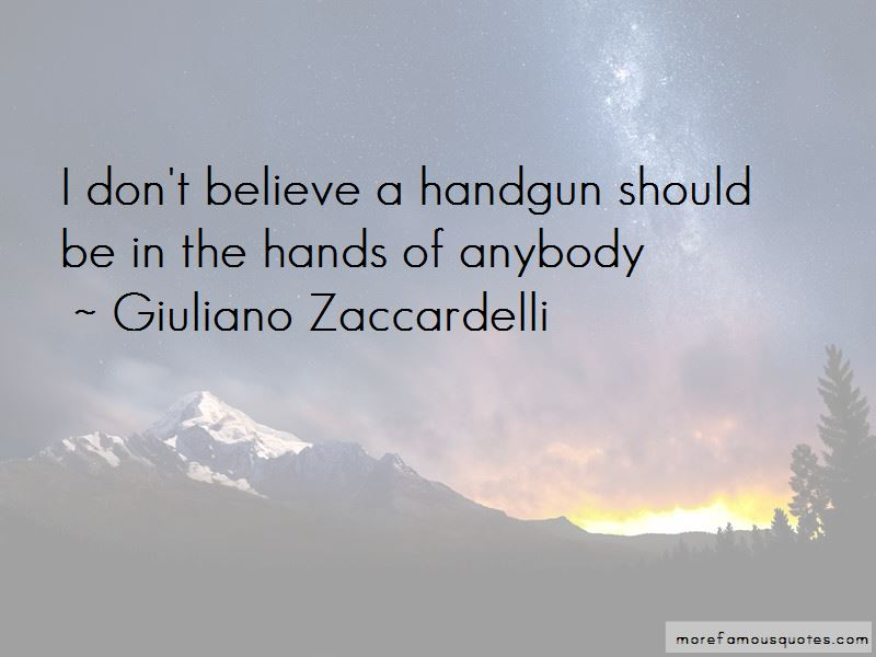 Giuliano Zaccardelli Quotes