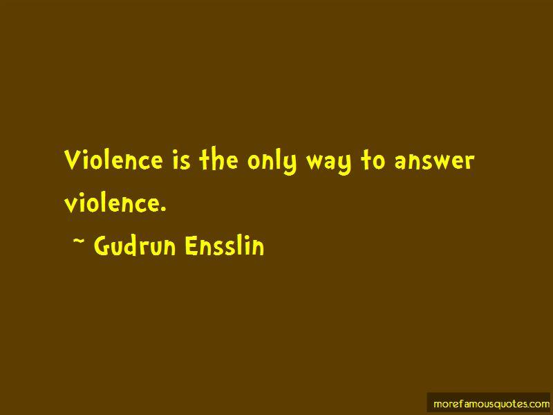 Gudrun Ensslin Quotes Pictures 2